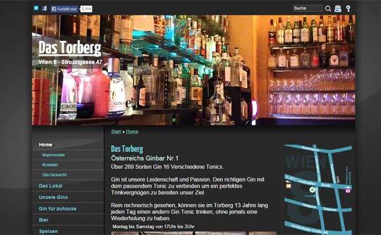 Gin Bar in Wien