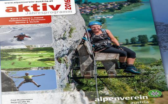 Der Katalog des Alpenverein Sektion Austria