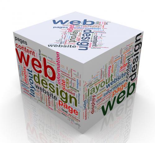 Hochglanz-Webdesign für